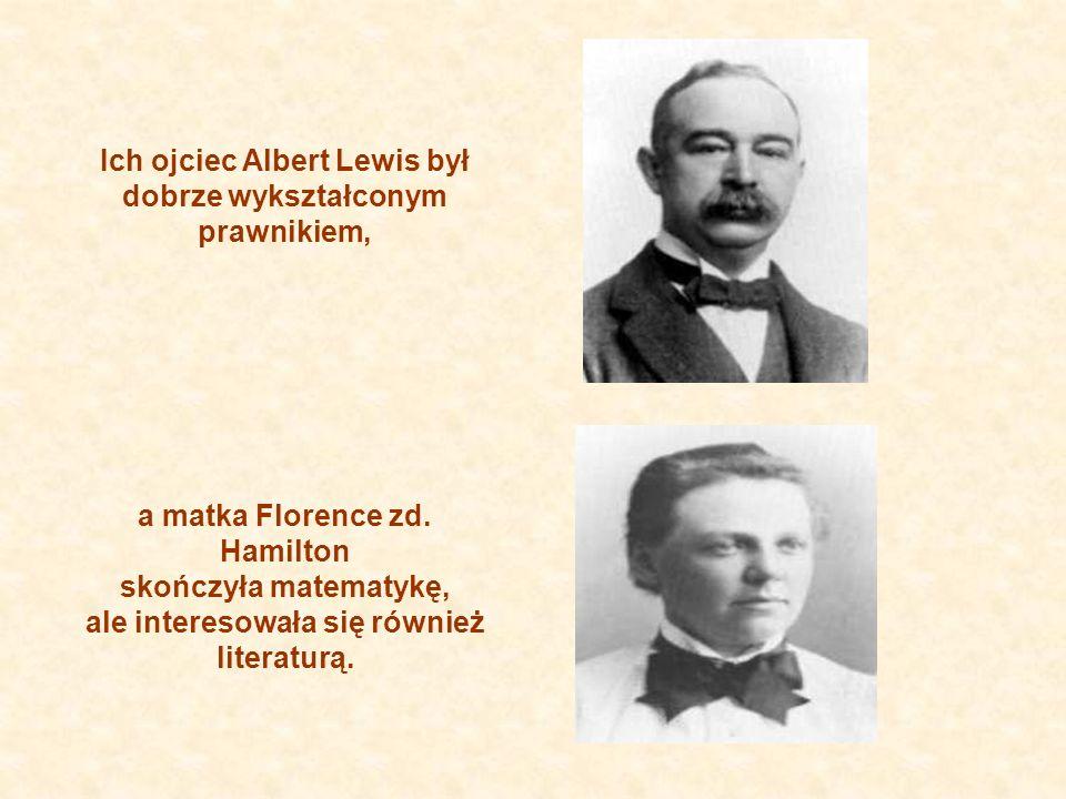 Ich ojciec Albert Lewis był dobrze wykształconym prawnikiem,