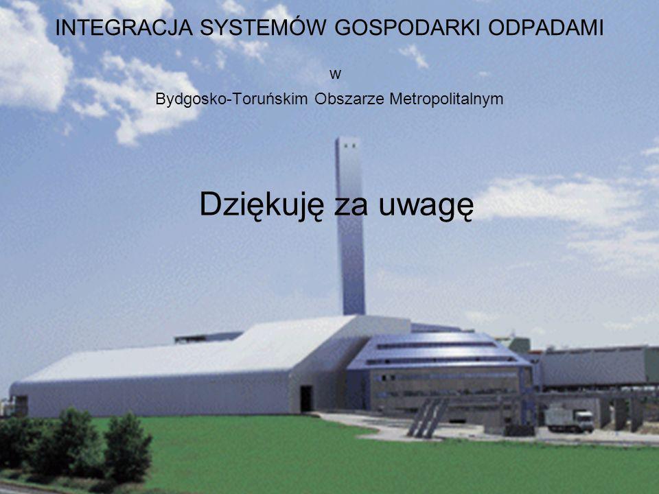 INTEGRACJA SYSTEMÓW GOSPODARKI ODPADAMI w Bydgosko-Toruńskim Obszarze Metropolitalnym