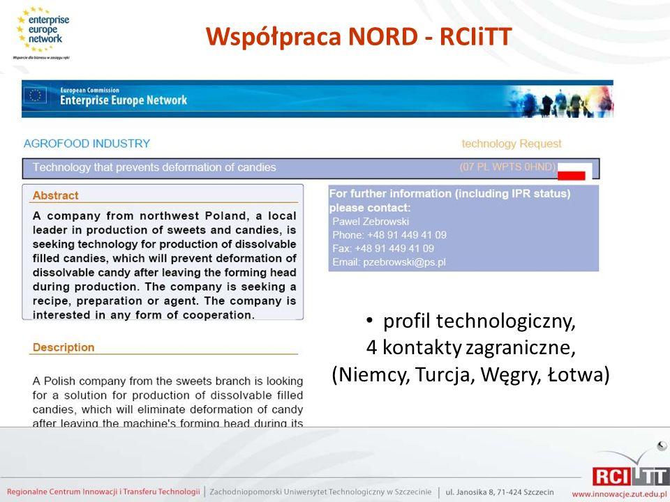 Współpraca NORD - RCIiTT