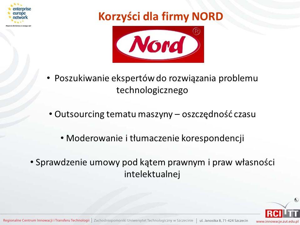 Korzyści dla firmy NORD