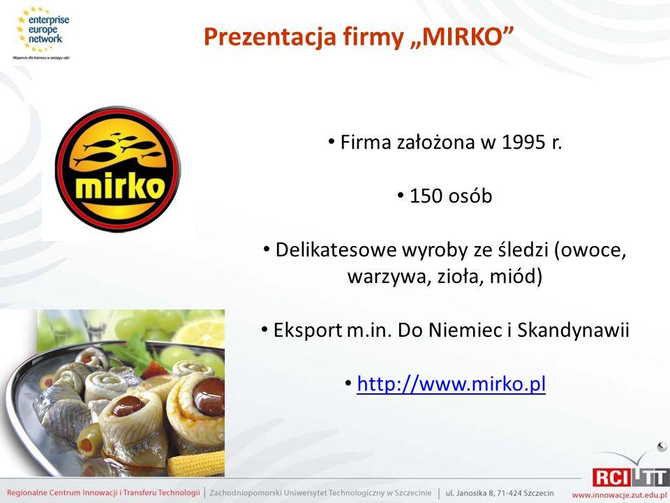 """Prezentacja firmy """"MIRKO"""