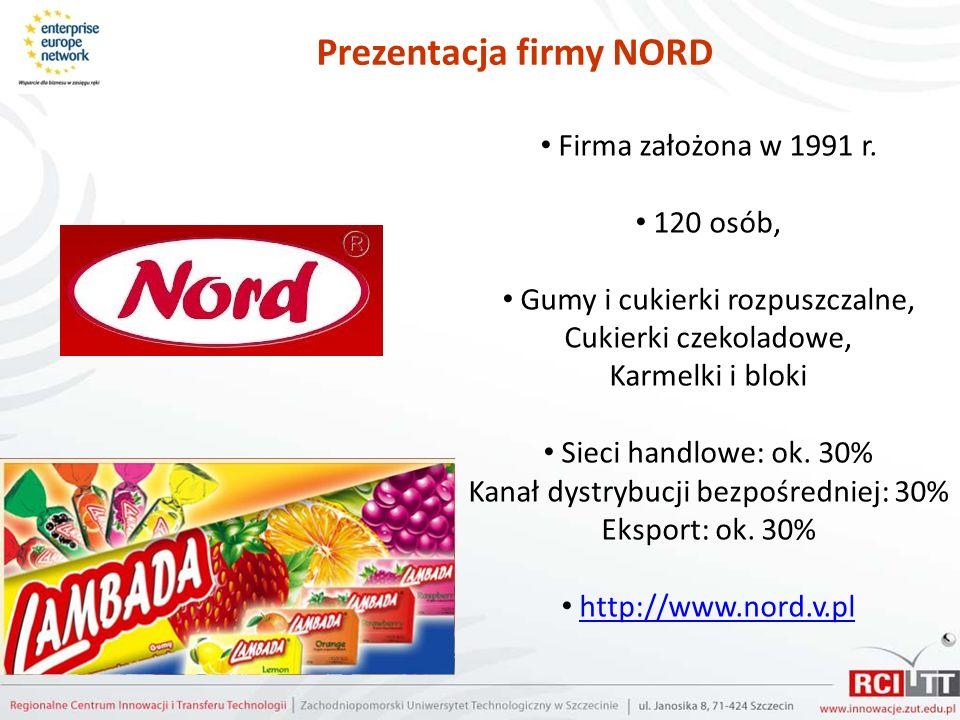 Prezentacja firmy NORD