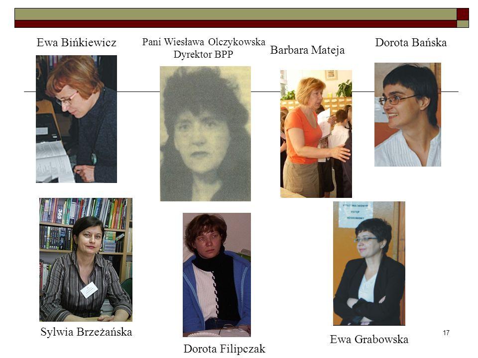Pani Wiesława Olczykowska