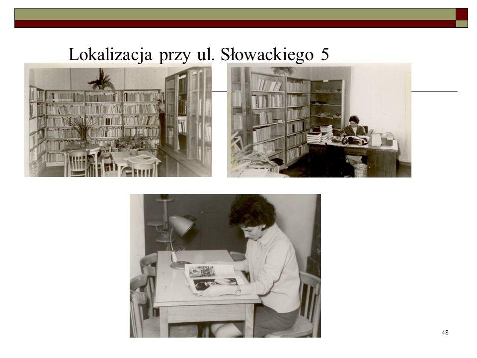 Lokalizacja przy ul. Słowackiego 5
