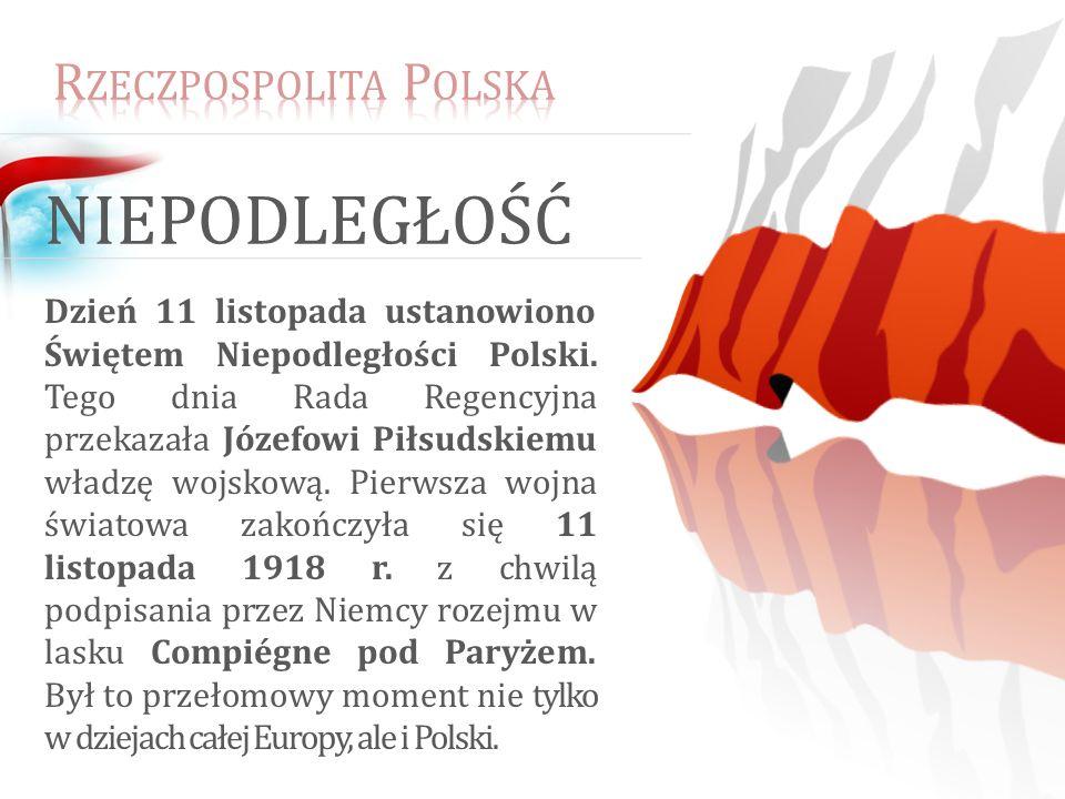 niepodległość Rzeczpospolita Polska