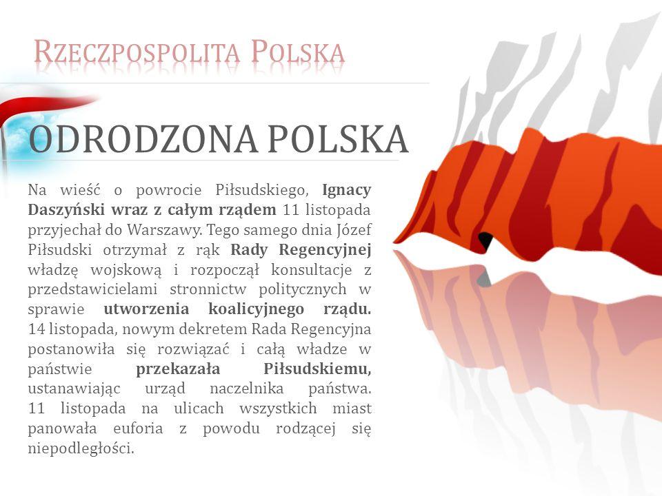Odrodzona Polska Rzeczpospolita Polska