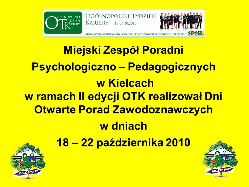 Miejski Zespół Poradni Psychologiczno – Pedagogicznych