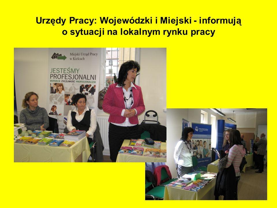 Urzędy Pracy: Wojewódzki i Miejski - informują o sytuacji na lokalnym rynku pracy