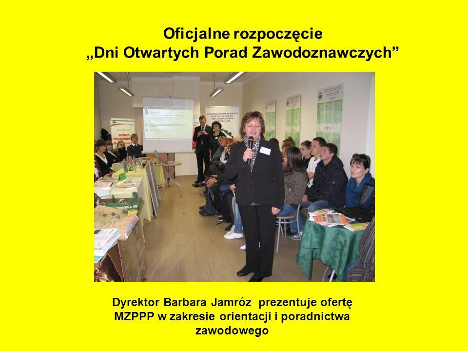 """Oficjalne rozpoczęcie """"Dni Otwartych Porad Zawodoznawczych"""