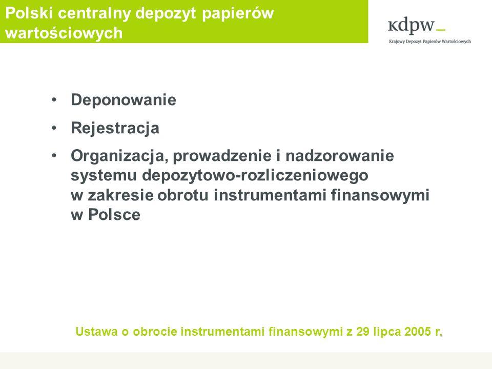 Polski centralny depozyt papierów wartościowych