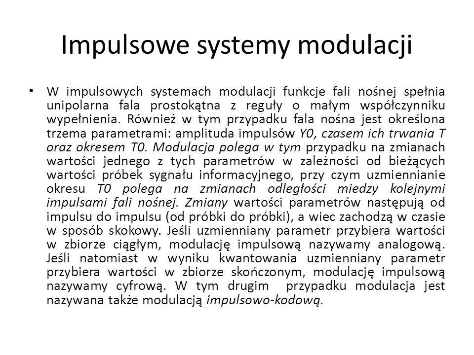 Impulsowe systemy modulacji