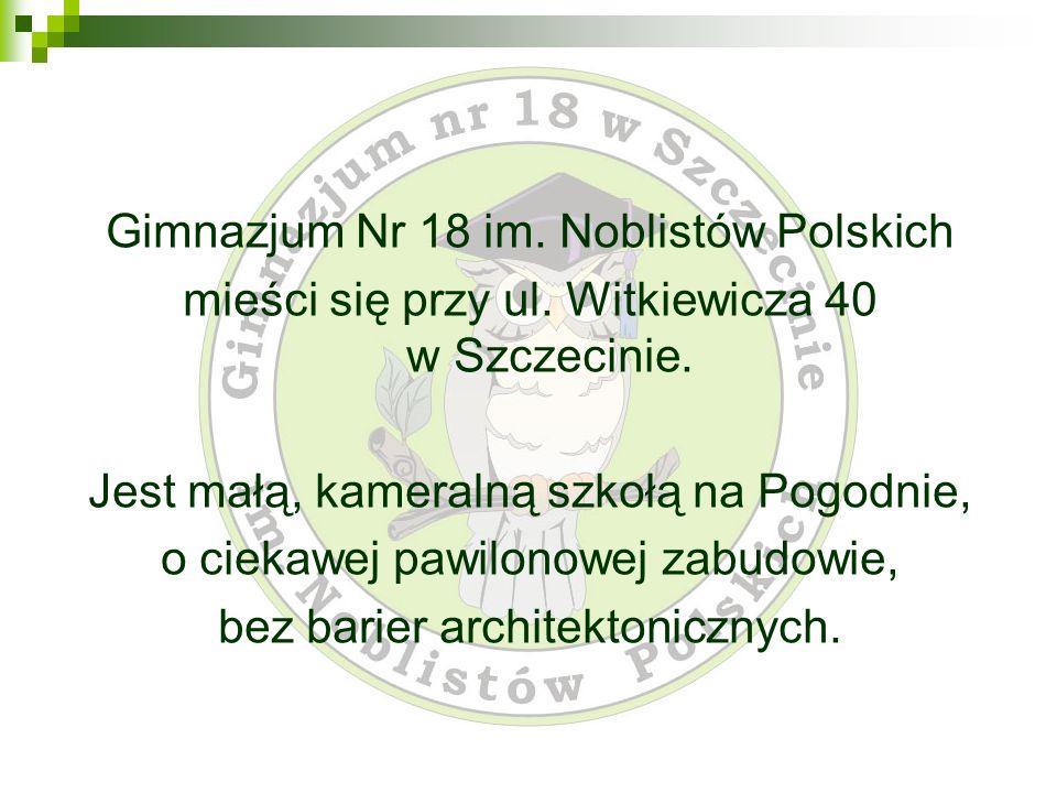 Gimnazjum Nr 18 im. Noblistów Polskich