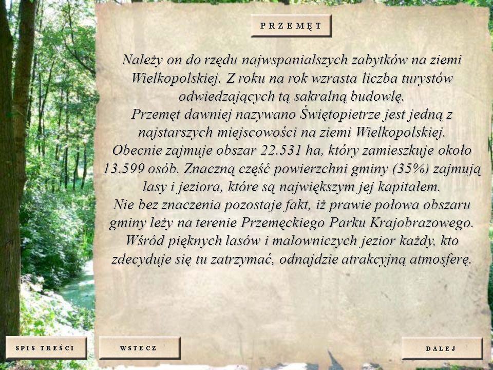 Należy on do rzędu najwspanialszych zabytków na ziemi Wielkopolskiej