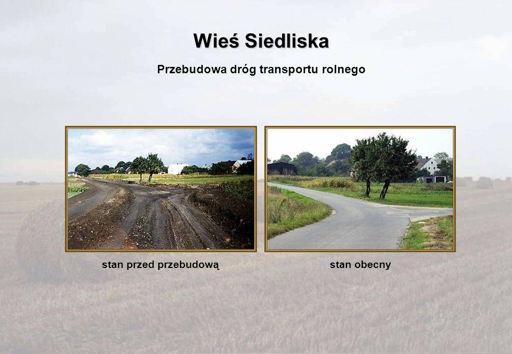 Przebudowa dróg transportu rolnego