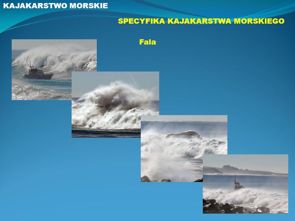 KAJAKARSTWO MORSKIE SPECYFIKA KAJAKARSTWA MORSKIEGO Fala