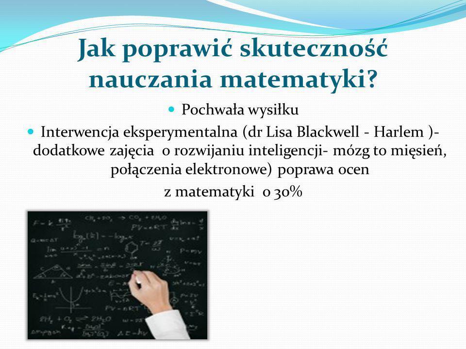 Jak poprawić skuteczność nauczania matematyki