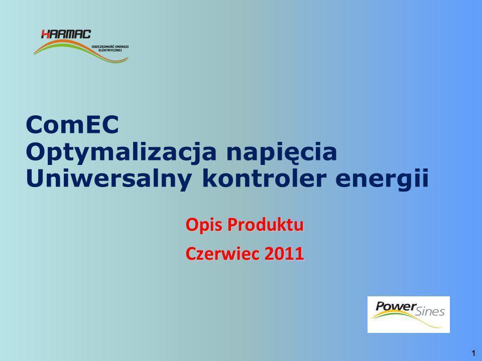 ComEC Optymalizacja napięcia Uniwersalny kontroler energii