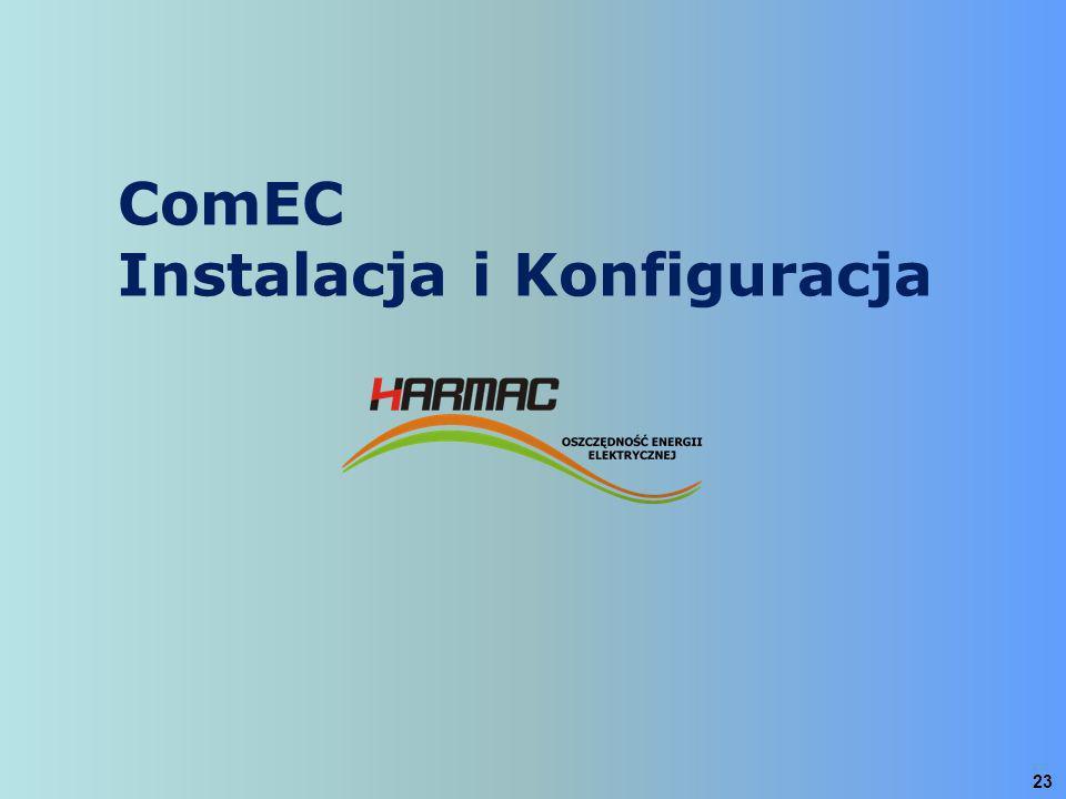 ComEC Instalacja i Konfiguracja
