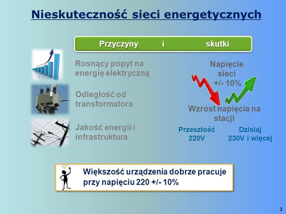 Nieskuteczność sieci energetycznych