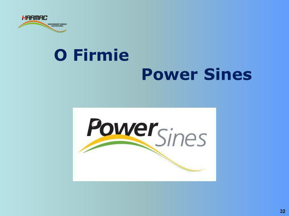 O Firmie Power Sines
