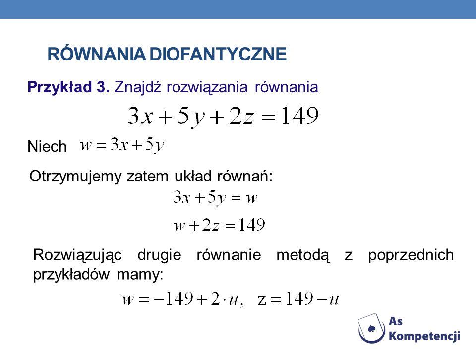 Równania diofantyczne