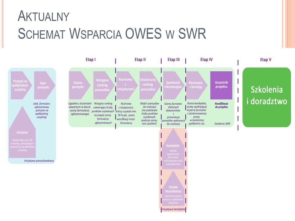Aktualny Schemat Wsparcia OWES w SWR