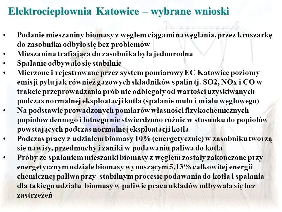 Elektrociepłownia Katowice – wybrane wnioski