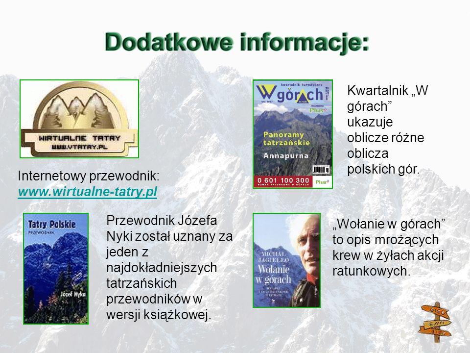 """Kwartalnik """"W górach ukazuje oblicze różne oblicza polskich gór."""