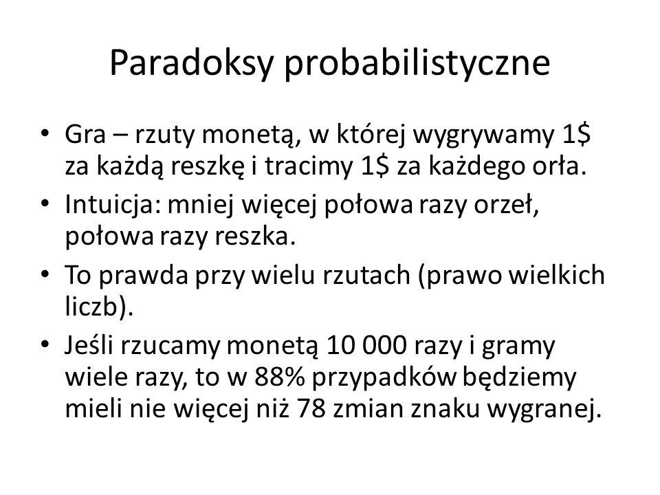 Paradoksy probabilistyczne