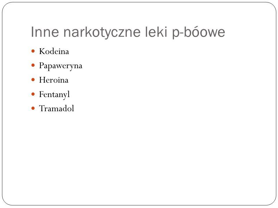 Inne narkotyczne leki p-bóowe