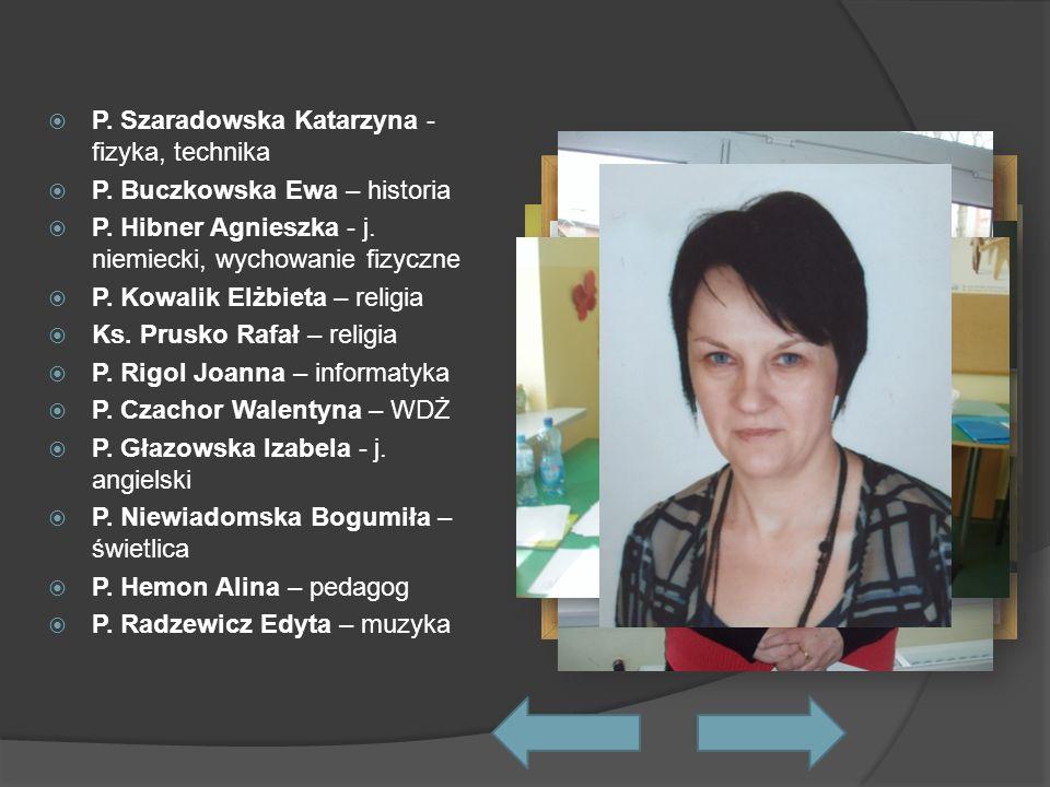P. Szaradowska Katarzyna - fizyka, technika