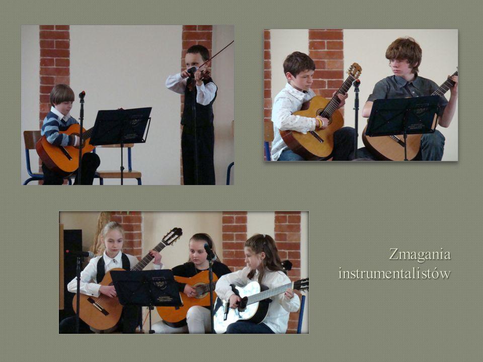 Zmagania instrumentalistów