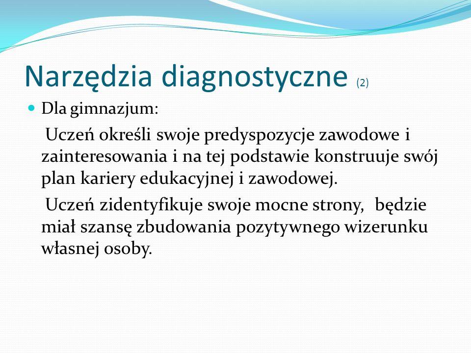 Narzędzia diagnostyczne (2)