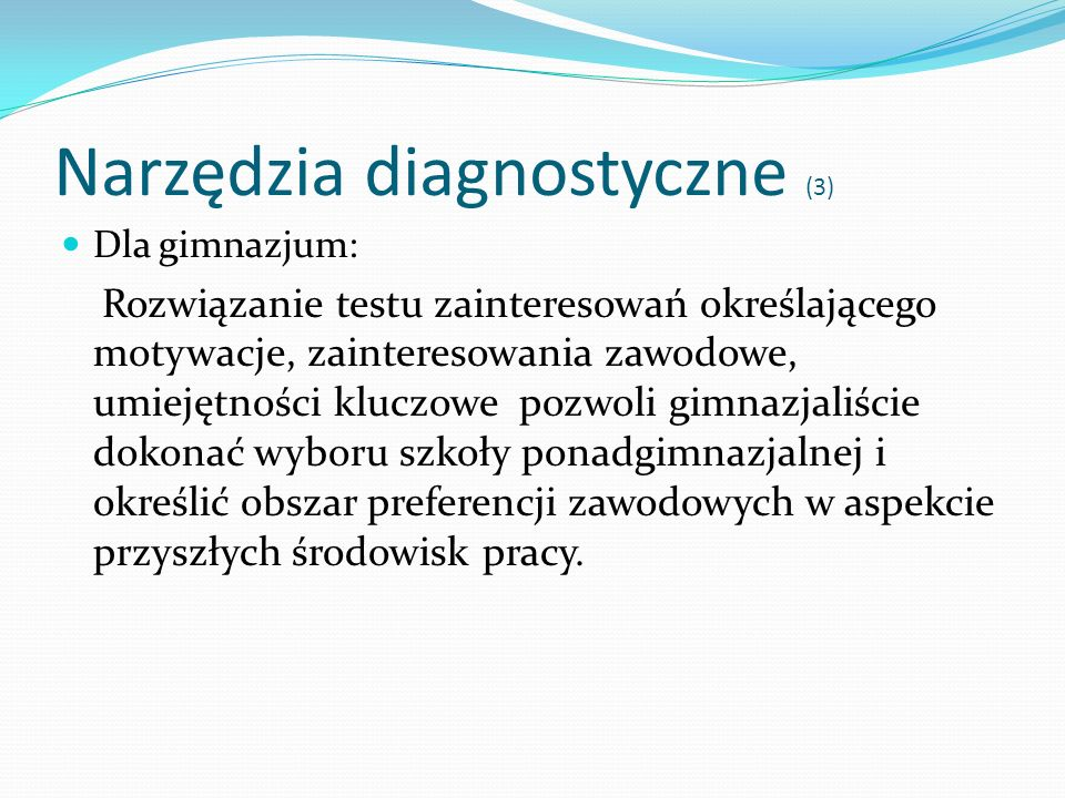 Narzędzia diagnostyczne (3)