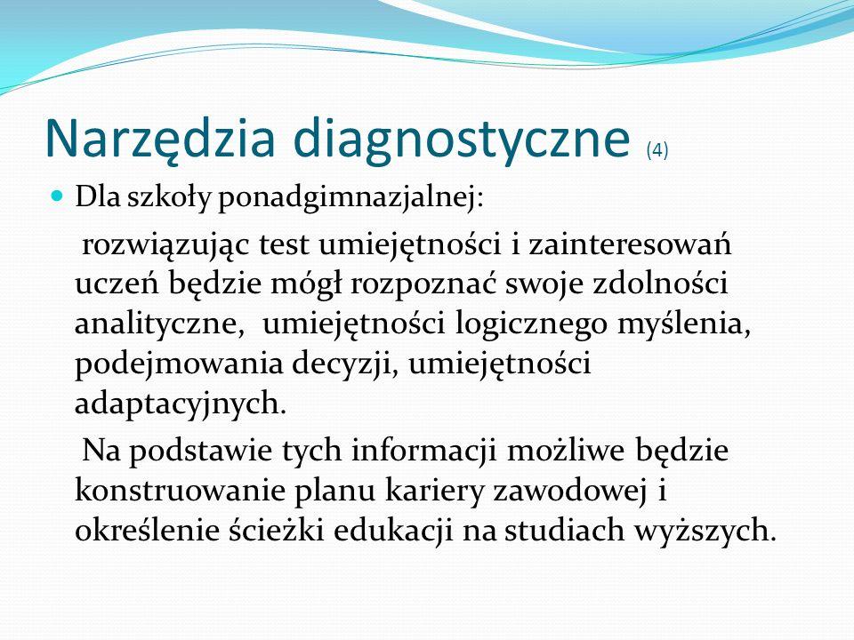 Narzędzia diagnostyczne (4)