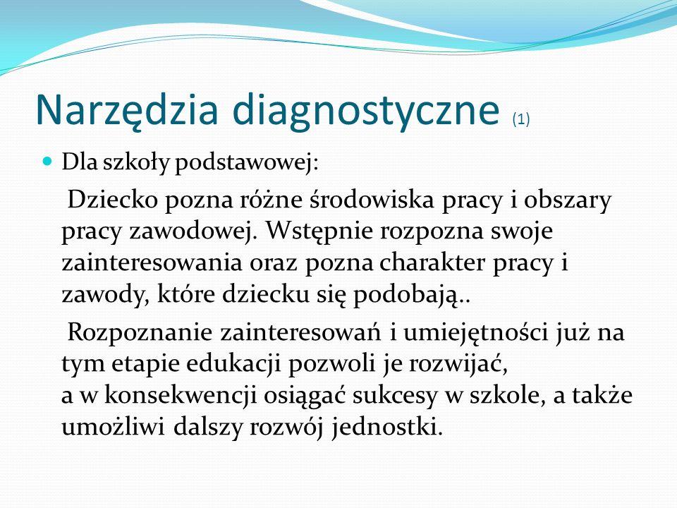 Narzędzia diagnostyczne (1)