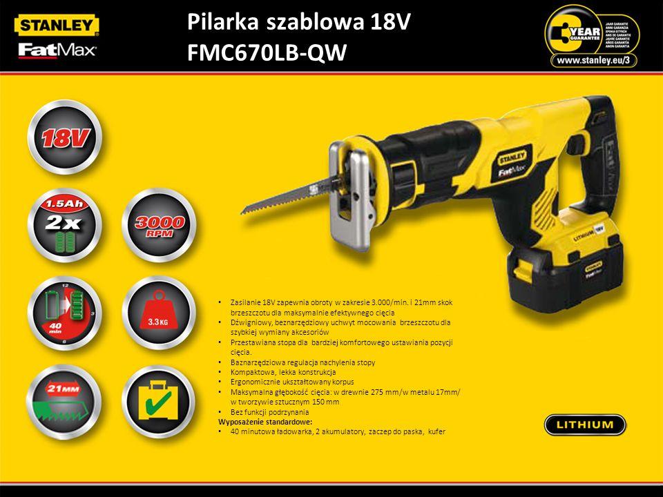 Pilarka szablowa 18V FMC670LB-QW