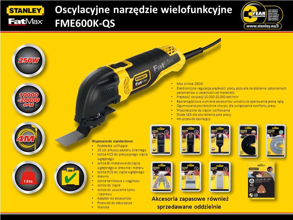 Oscylacyjne narzędzie wielofunkcyjne FME600K-QS