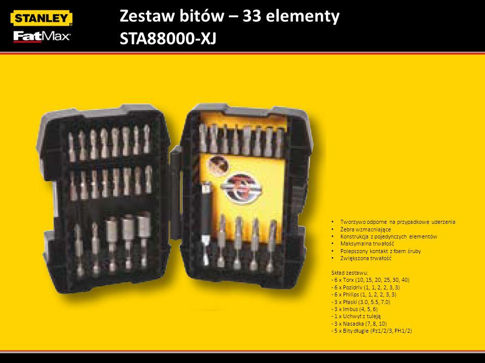 Zestaw bitów – 33 elementy STA88000-XJ