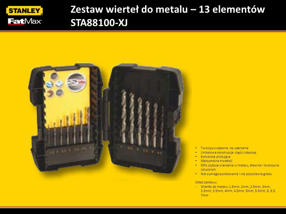 Zestaw wierteł do metalu – 13 elementów STA88100-XJ
