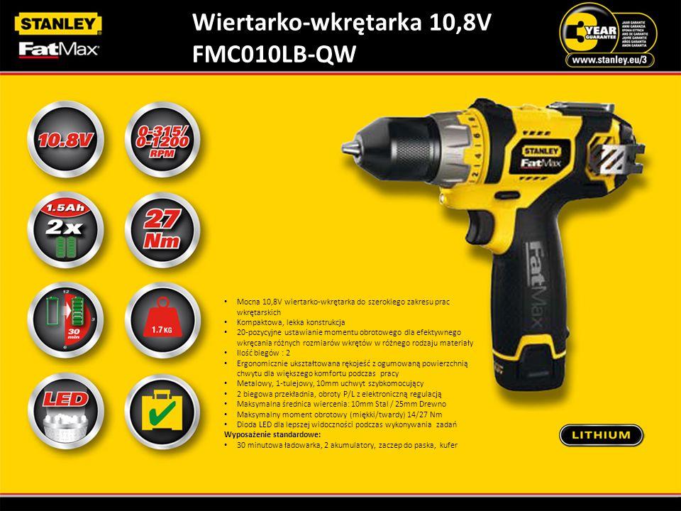 Wiertarko-wkrętarka 10,8V FMC010LB-QW