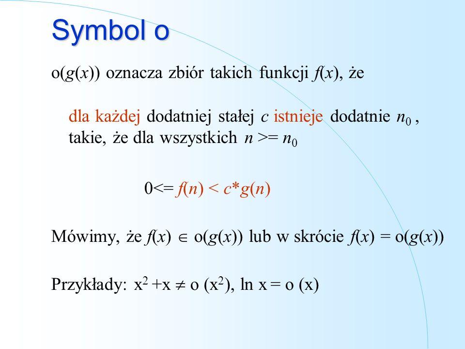 Symbol o
