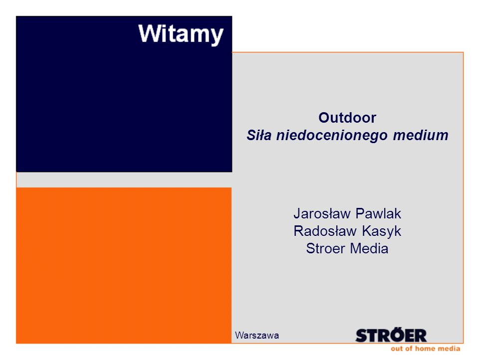 Outdoor Siła niedocenionego medium