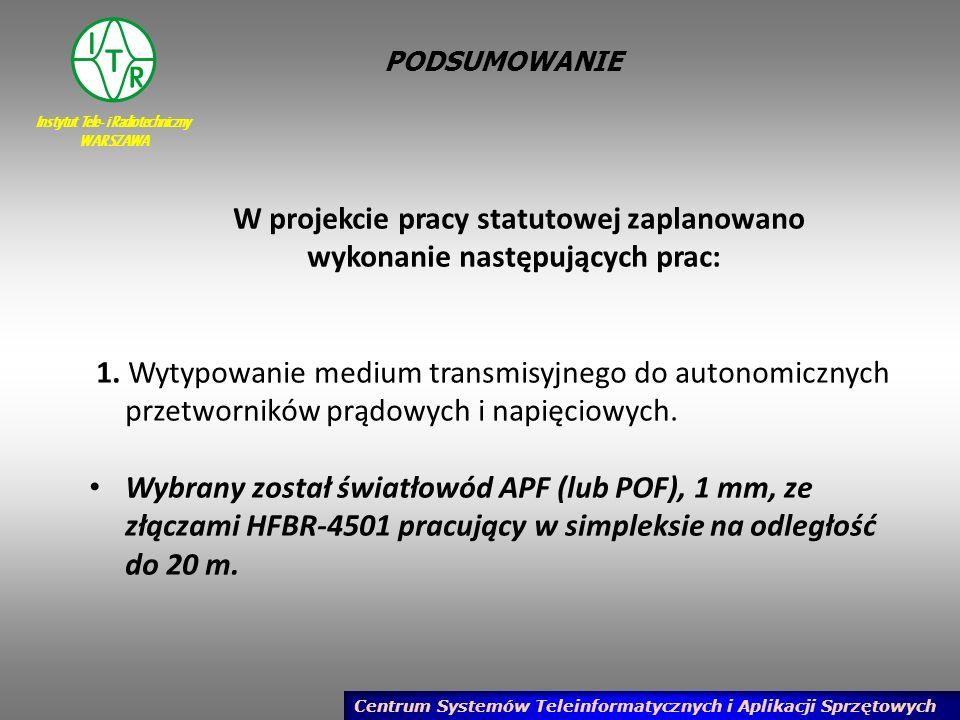 Instytut Tele- i Radiotechniczny WARSZAWA