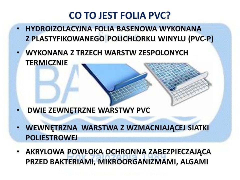 CO TO JEST FOLIA PVC HYDROIZOLACYJNA FOLIA BASENOWA WYKONANA Z PLASTYFIKOWANEGO POLICHLORKU WINYLU (PVC-P)