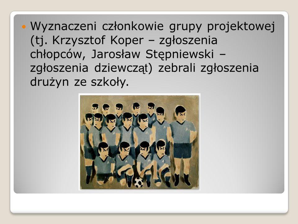 Wyznaczeni członkowie grupy projektowej (tj