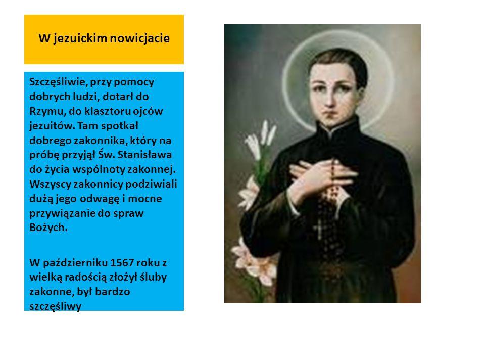 W jezuickim nowicjacie