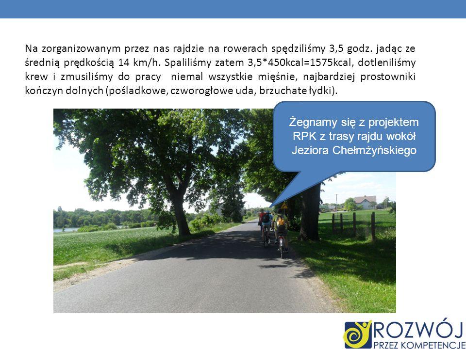 Żegnamy się z projektem RPK z trasy rajdu wokół Jeziora Chełmżyńskiego