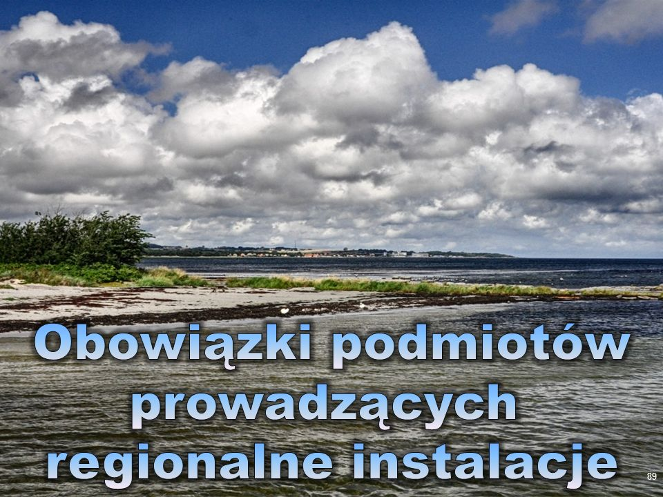 regionalne instalacje