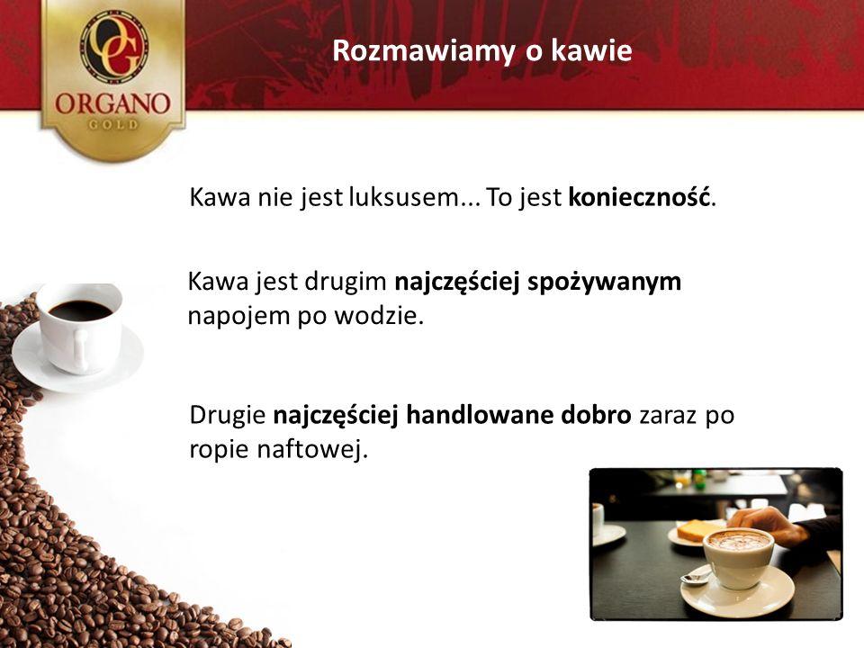 Rozmawiamy o kawie Kawa nie jest luksusem... To jest konieczność.